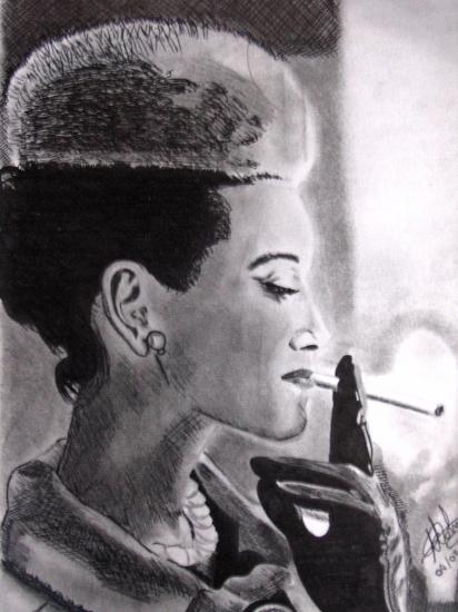 Audrey Hepburn par art-bat